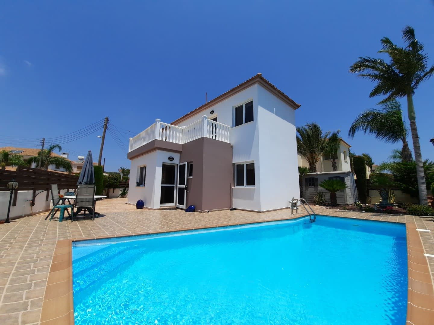 Three Bedroom Villa in Nissi Beach area with Magnificent Views