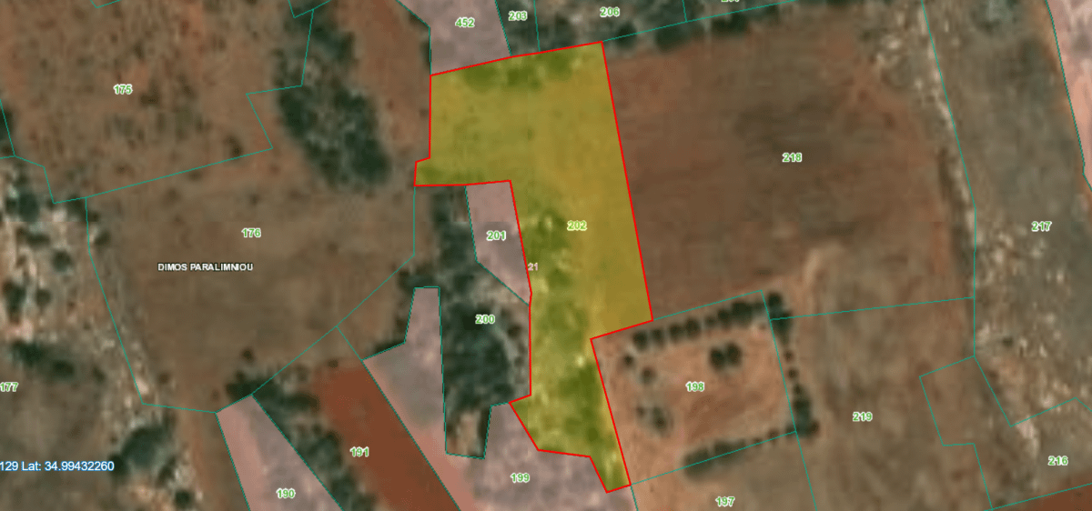 Agriculture Land for sale in Protaras Area