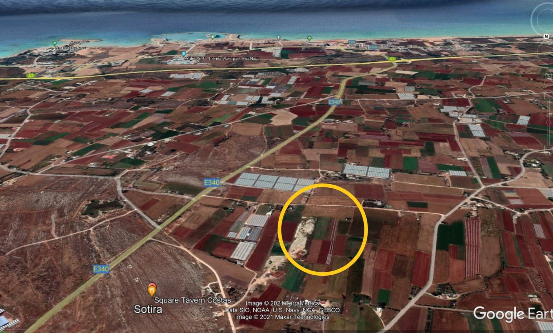 Agriculture Land For Sale In Sotira Area
