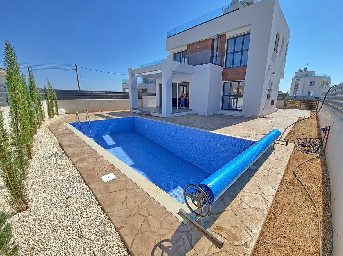 Brand new Three Bedroom Villa in Sotira Area